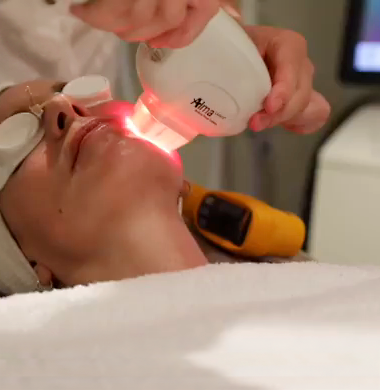 skin tightening with near Infrared technology